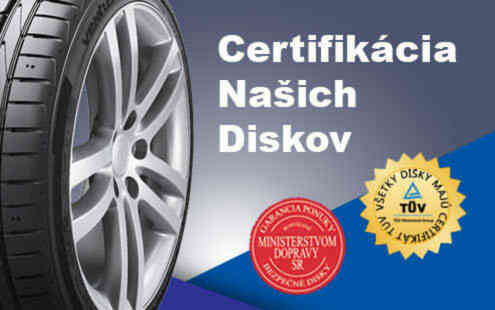 Bezpečné certifikované disky